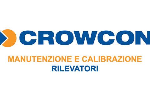 Logo Crowcon MAnutenzione e calibrazione Rilevatori