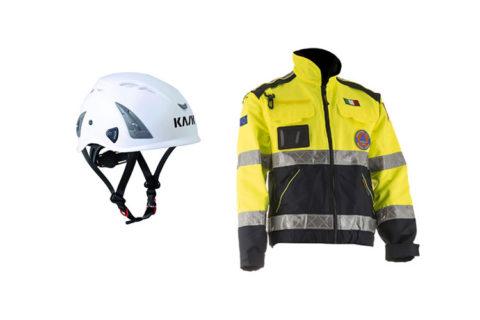 Abbigliamento Emergenza Protezione Civile Cagliari